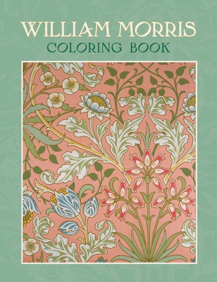 William Morris Coloring Book 201