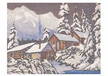 William S. Rice: Winter's Peace Holiday Card Assortment