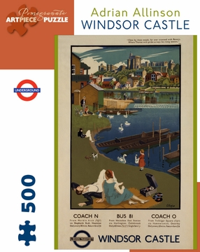Adrian Allinson: Windsor Castle 500-piece Jigsaw Puzzle