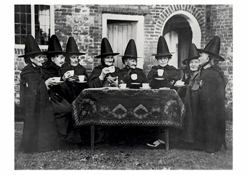 Witches' Coven Postcard