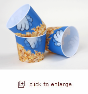 3D Lenticular Popcorn Tub - Cartoon Hand (Case Pack of 24)