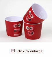 3D Lentricular Popcorn Tub - Game Night Faces (Case Pack of 24)