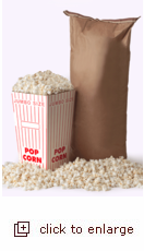 50 lbs of Big & Yellow Gourmet Popping Corn