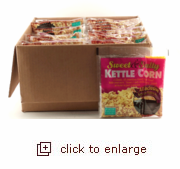 8oz Sweet & Salty Kettle Corn All-Inclusive Popping Kits (Case Pack of 44)