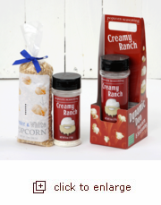 Dynamic Duo Popcorn Gift Set - Creamy Ranch meets Tender & White