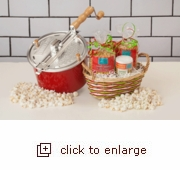 Barn Red Whirley-Pop: Great Gifts Come in Small Packages...Hull-less Popcorn