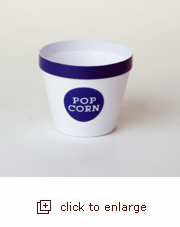 Royal Blue Popcorn Bucket - Small (Case Pack of 24)