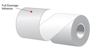 """2.25"""" x 170'  MAXStick 21# Direct Thermal """"Sticky Paper"""" (32 rolls/case) - Full Coverage Adhesive - Canary"""
