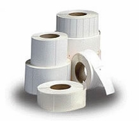 "Thermamark 2.3"" x 1"" Direct Thermal Paper Label; 1,685 labels/roll; for Blaster/Del Sol 03-02-1519 (12 rolls/case)"