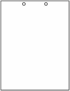 """8 1/2"""" x 11"""" - 20# 2-Hole Punch Top Paper (2,500 sheets/carton) - Health Care Format"""