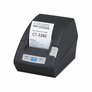 Citizen CT-S280, Thermal POS Printer, 58mm, 80 mm/Sec, 32-48 col, USB, White