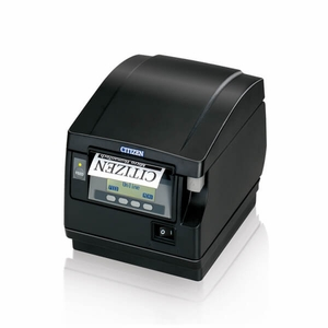 Citizen CT-S851, Thermal POS Printer, 300mm, Powered USB, Black, PNE, Front Exit