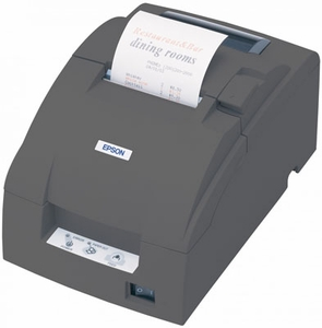 Epson TM-U220D - Impact/Receipt Printer, Ethernet (E03), Dark Gray, No Autocutter, Power Supply Included