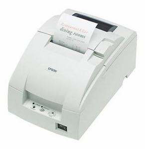 Epson TM-U220D - Impact/Receipt Printer, Serial, Cool White, No Autocutter, Power Supply Included