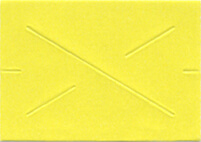 Garvey GX1812 Pricing Labels (1 Sleeve = 11 rolls @ 1,275 labels/sleeve = 14,025 labels) - Yellow - Blank