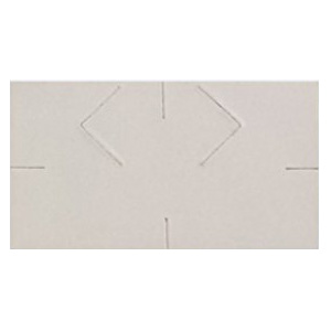 Monarch 1-Line Blank Price Labels for 1131