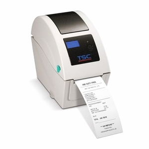 TSC TDP-225 Direct Thermal Printer, 203 dpi, 5 ips (beige) USB and Serial