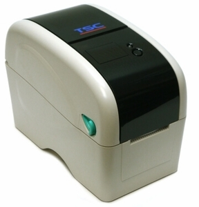 """TSC TTP-225 2"""" wide Thermal Transfer Printer, 203 dpi, 5 ips (navy) includes real time clock, USB & Serial Ports"""