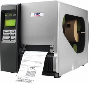 TSC TTP-346M Pro Thermal Transfer Printer, 300 dpi, 8 ips 4 ports Ethernet, USB, Parallel, Serial, SD FLASH card reader, PS/2 port, real time clock