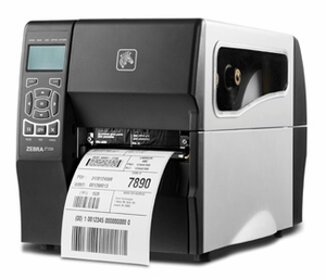 "Zebra ZT230 Industrial Label Printer with Direct Thermal, 4"" Print Width, 203 DPI, Cutter, 802.11 A/B/G/N"