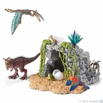 Dinosaurs in Cave Schleich Collectibles