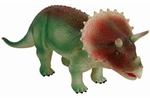 Large Soft Triceratops Dinosaur Toy, 19 inch