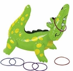 Alligator Ring Toss Party Game