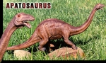 Apatosaurus Model Toy Replica Jurassic World Dinosaur