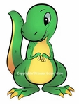 Baby T rex Dinosaur Wall Sticker,
