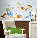 Babysaurus Wall Decals