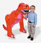 Giant Blow Up Inflatable T-rex,  48""