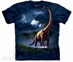 Long Neck Dinosaur Brachiosaurus T-shirt Adult Sizes