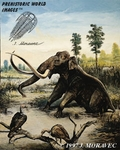 "Columbian Mammoth, Art Picture, 13"" x 19"""