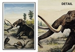 Pleistocene Columbian Mammoth Note Card
