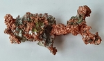 Bright & Shiny Red Orange Vein Copper