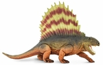 Safari Dimetrodon Scale Model Dinosaur Toy Prehistoric Replica, 7 inch