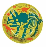 Dino Dig Party Dinosaur Beverage Plates, 8 pcs