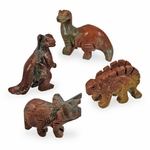 Gemstone Dinosaur Figures Party Favors