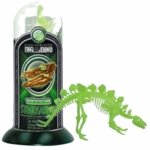 Dino Horizon 3D Stegosaurus Glow in the Dark Test Tube Skeleton