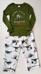 Special Offer: Dino T-rex Pajama 2 PC Set