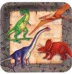 Digging for Dinos Beverage Plates, 7 inch