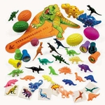 Dinosaur Birthday Party Favors, 54 pcs