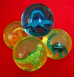 Dinosaur Bouncing Balls, 1pc
