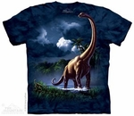Dinosaur Brachiosaurus Long Neck Graphic Picture T-shirt, 3 pcs