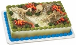 Dinosaur Birthday Cake Toppers Skeletons Figures, 3 pcs
