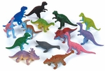 Dinosaur Cake Toppers, 6 pcs