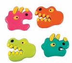"Large Gummy Dinosaurs, 2"", 4 pcs"