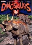 Dinosaur Coloring Books & Stickers, 12 Books