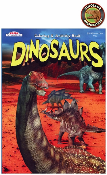 Dinosaur Coloring Books With Fun Activities 12