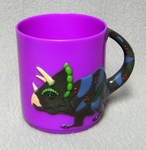 Dinosaur Drinking Cup Triceratops